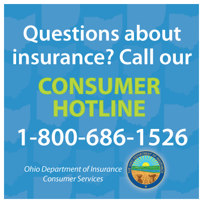 Call Us Or Go To Insurance Ohio Gov For Answers To Your Questions
