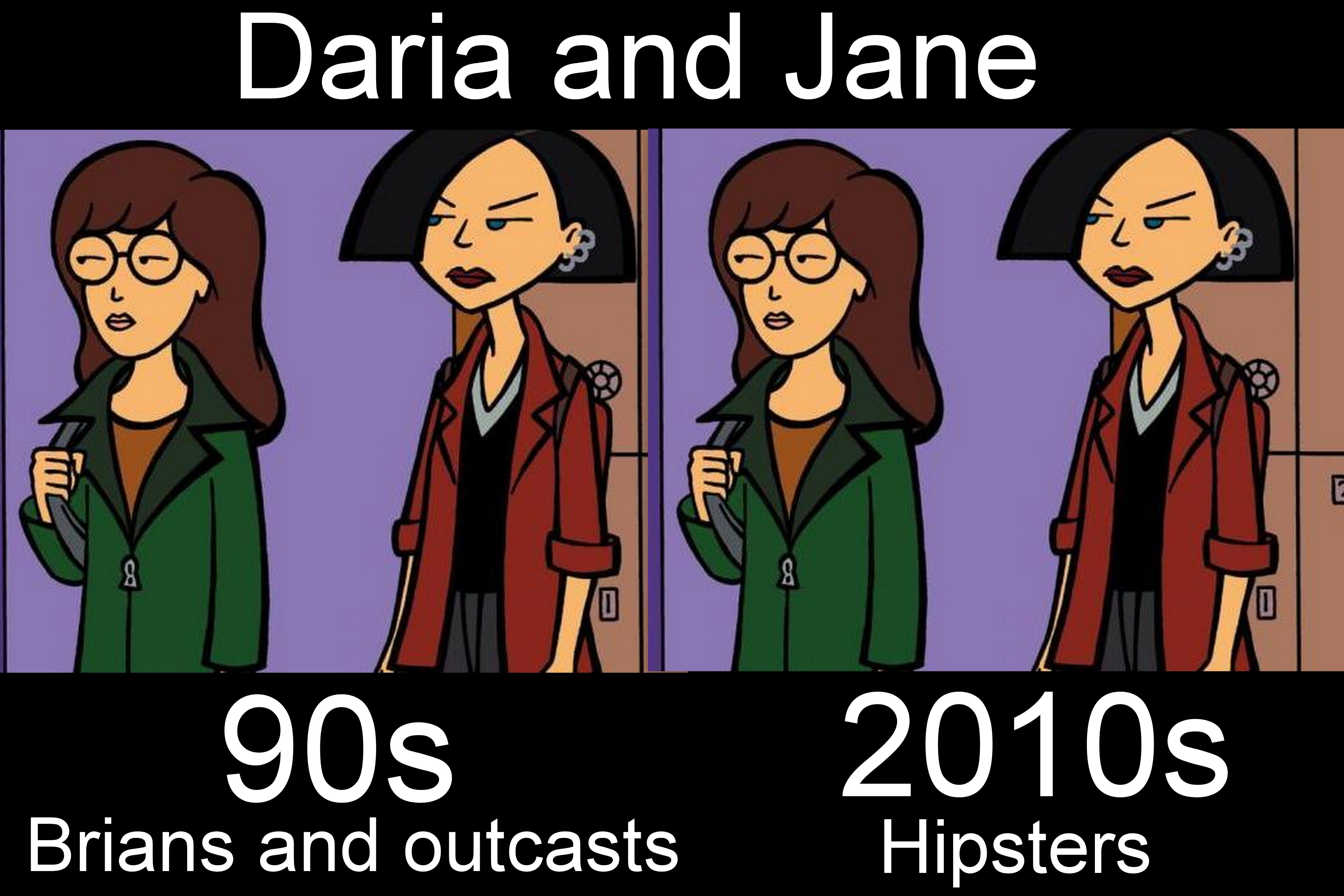 Daria and Jane- So true!
