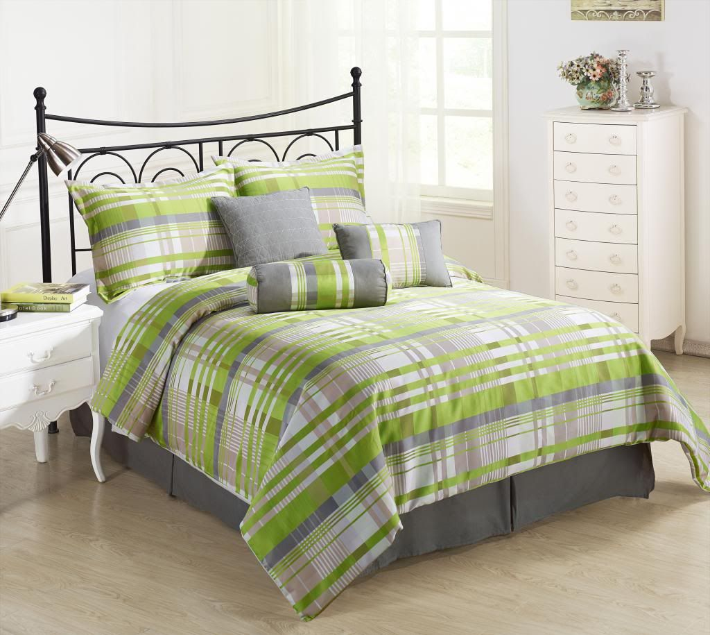 Bright Green Bedding