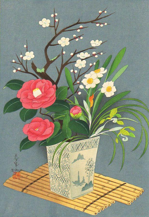 свет цветы букеты японские картинки исключительно
