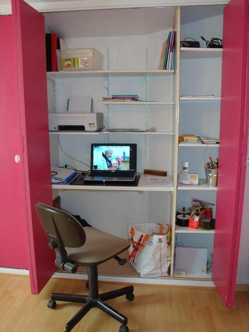 placard bureau forum bois id es d co rangement. Black Bedroom Furniture Sets. Home Design Ideas
