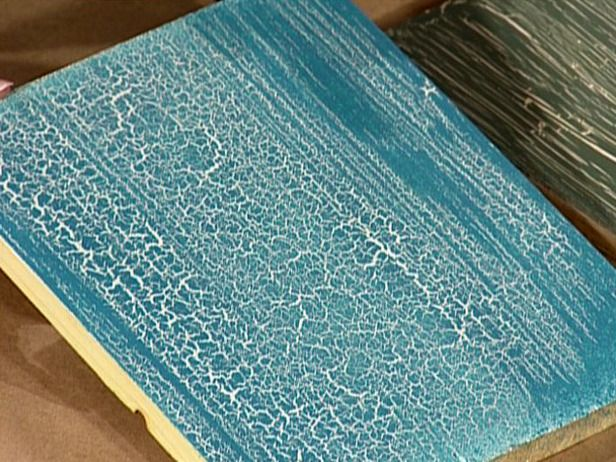 How To Apply A Crackle Finish Crackle Painting Staining Wood Distressed Furniture Painting