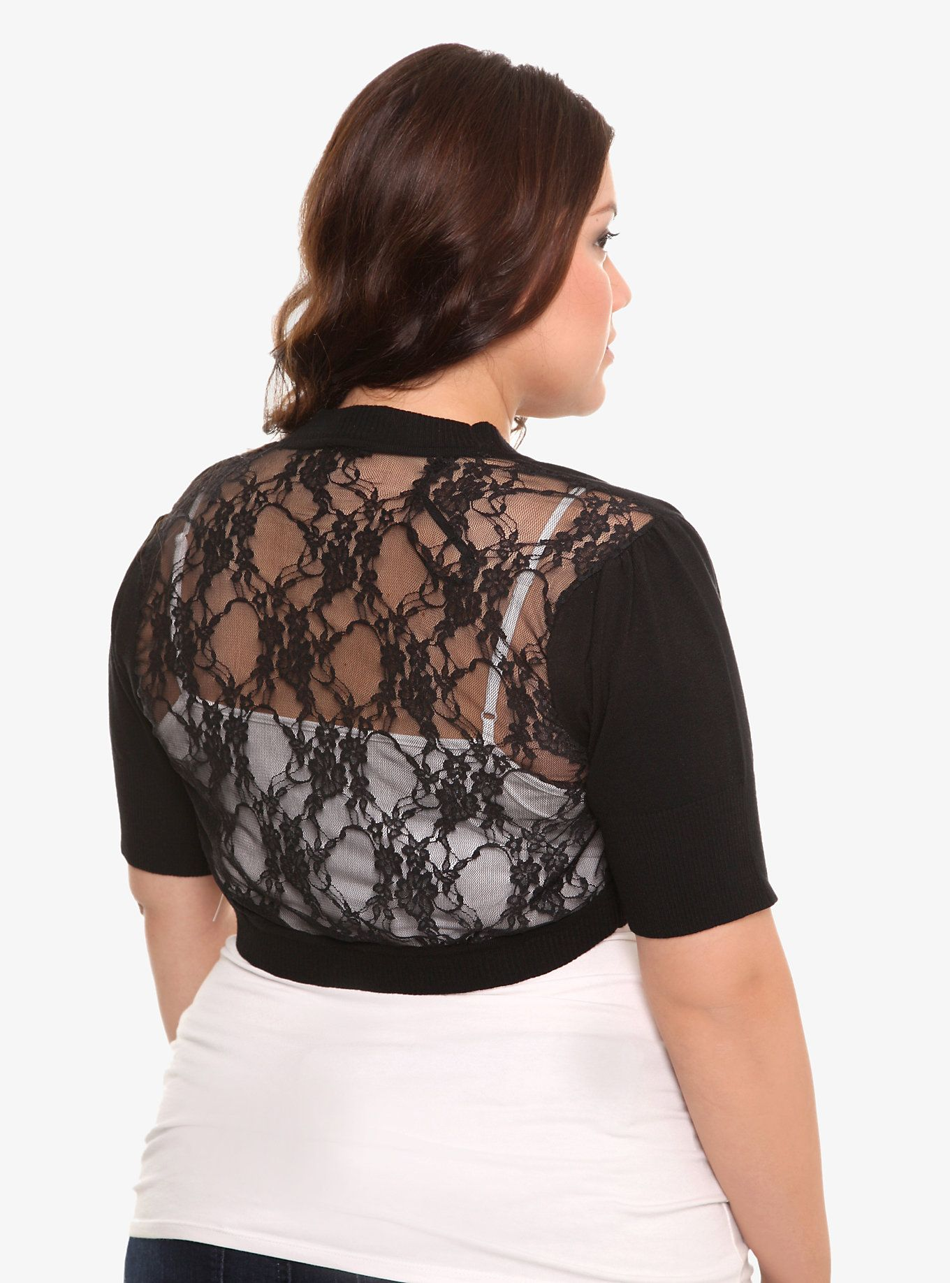 Lace dress torrid  Lace Back Shrug  Torrid Hot topic and Floral lace