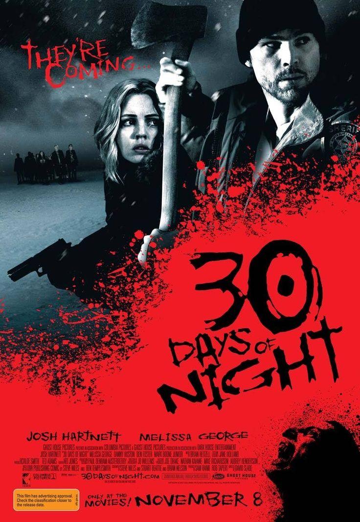 30 Days Of Night 30 Dias De Noite In Brasil Filmes De Vampiros Filmes 30 Dias De Noite