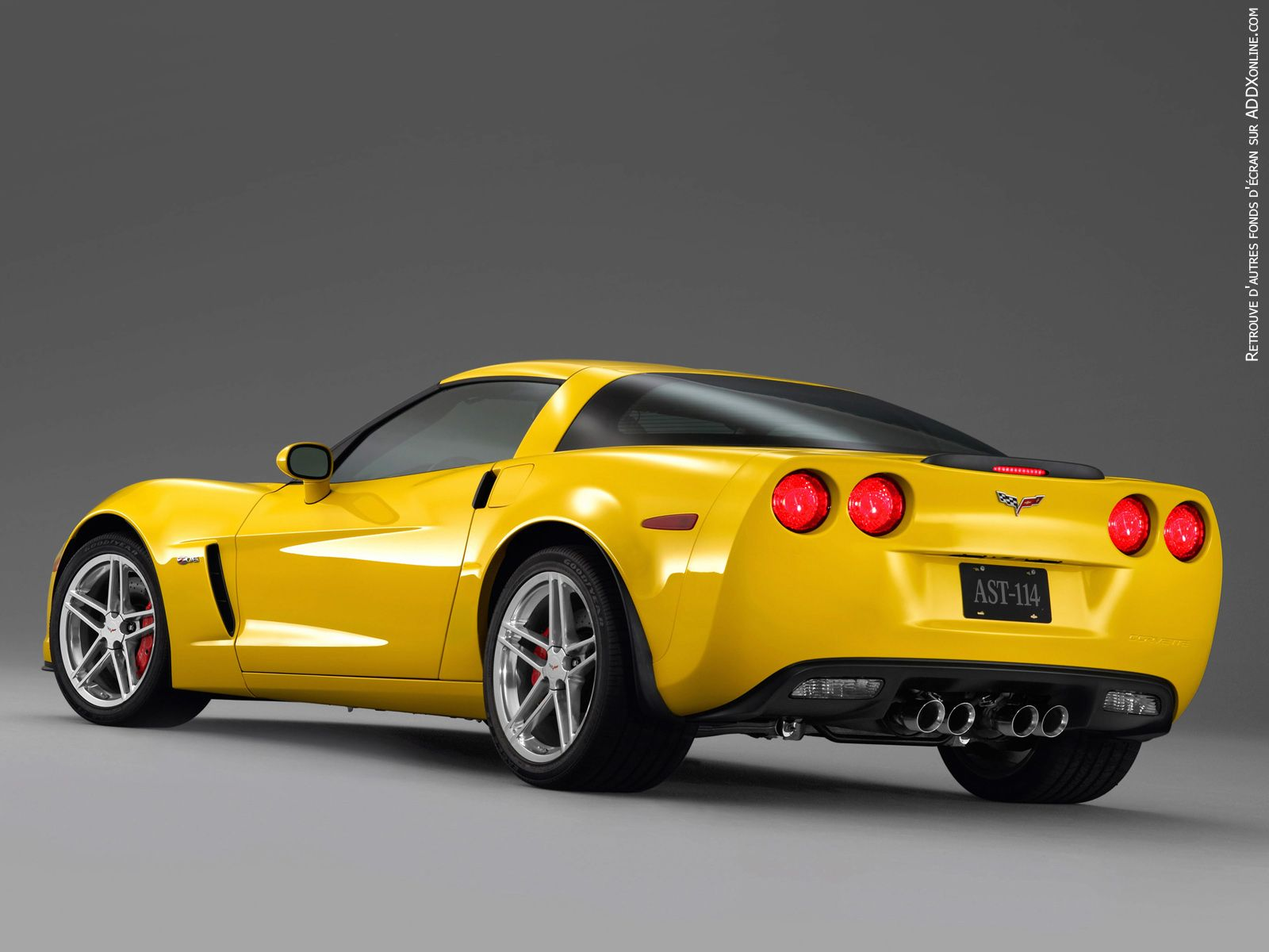 Corvettes look so good from the back... Chevrolet