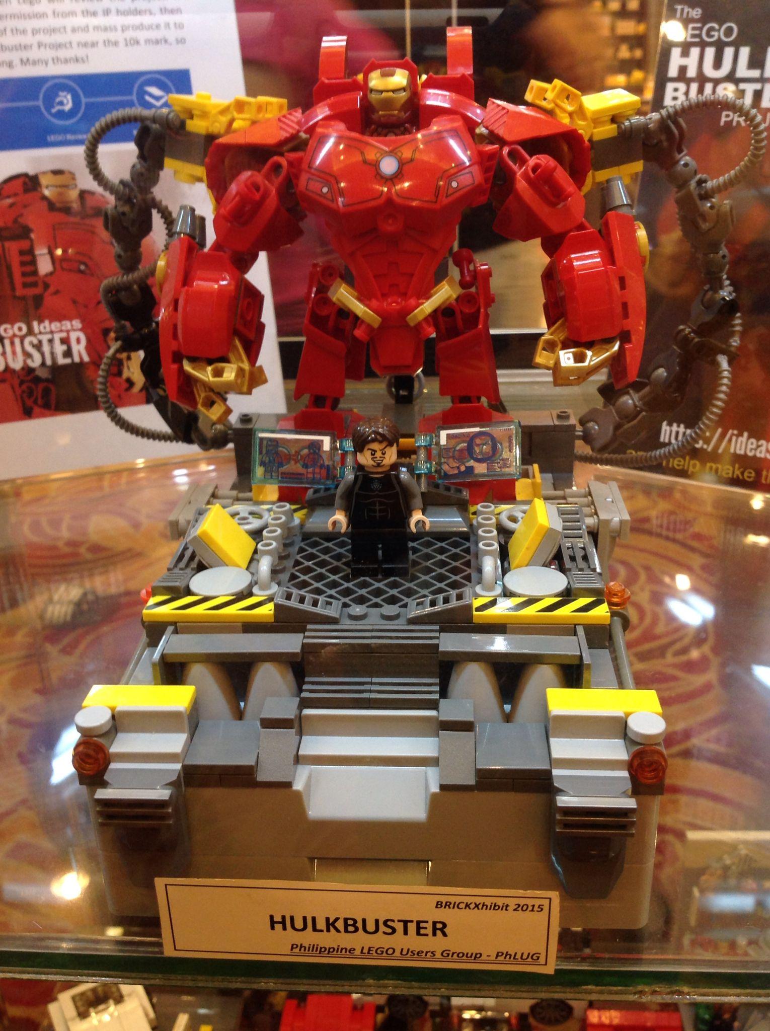 Hulk Buster #legoideas #marvel #avengers | Hulkbuster ...