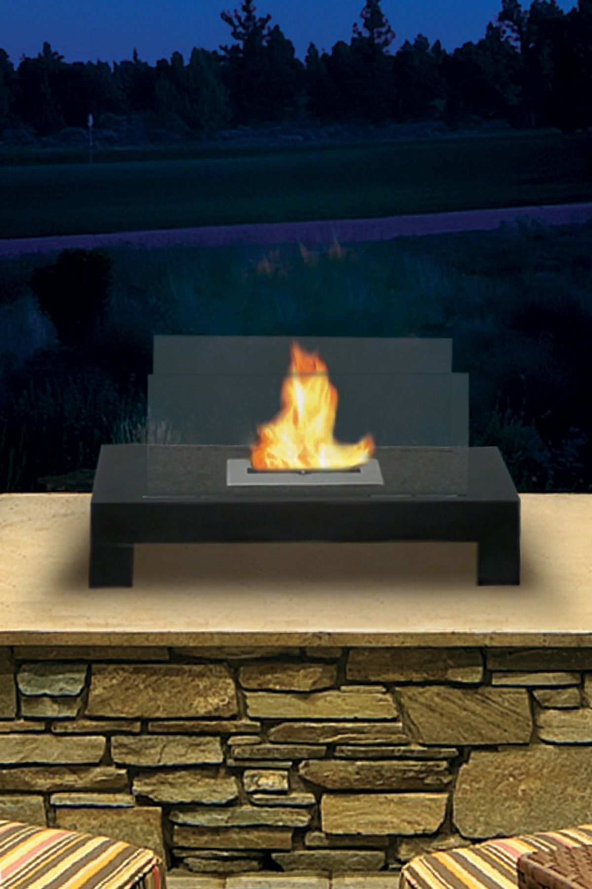 gramercy indoor outdoor fireplace home decor pinterest