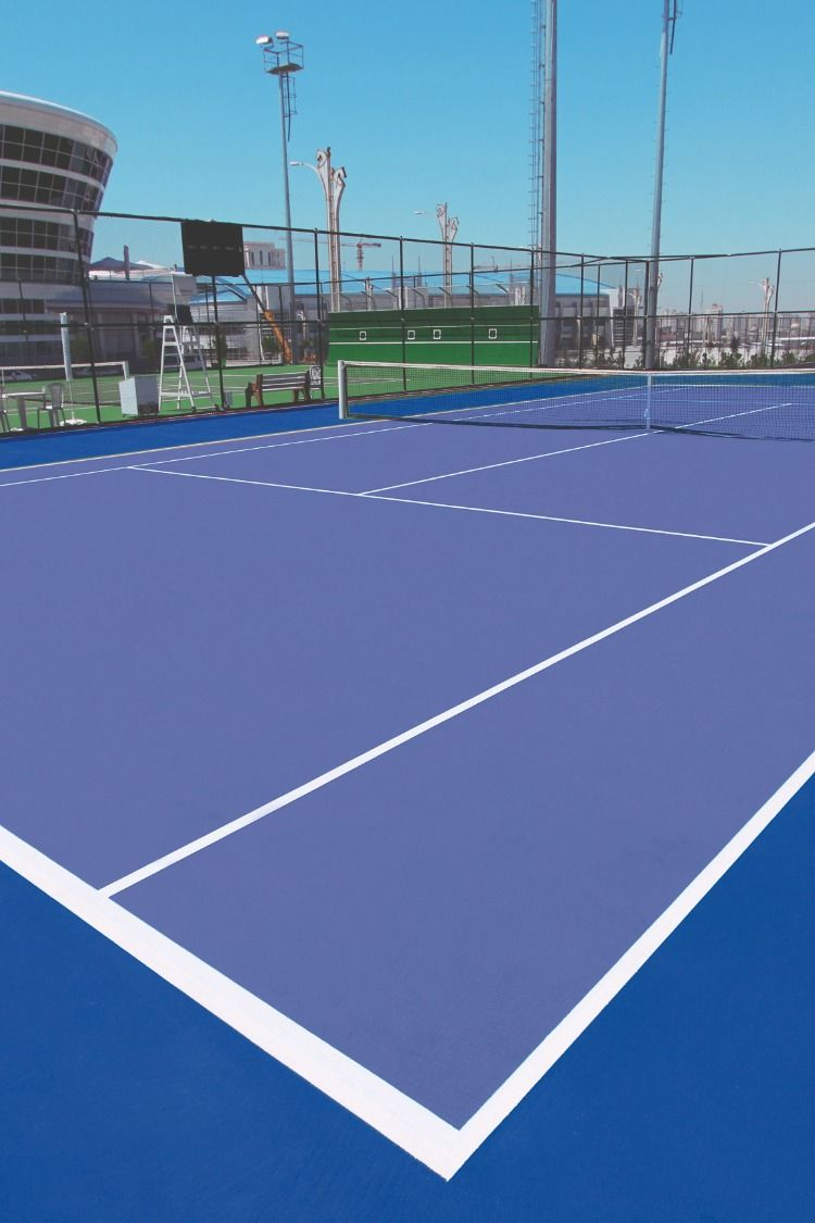 Tennis Court Color Court Flooring Tennis Court Tennis
