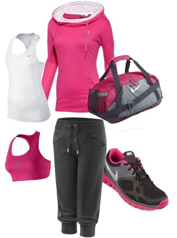 20 outfits para ir al gimnasio look sport pinterest for Deportivas para gimnasio