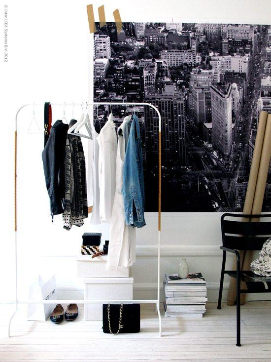 Diy Clothes Valet Interior Ikea Wardrobe Clothes