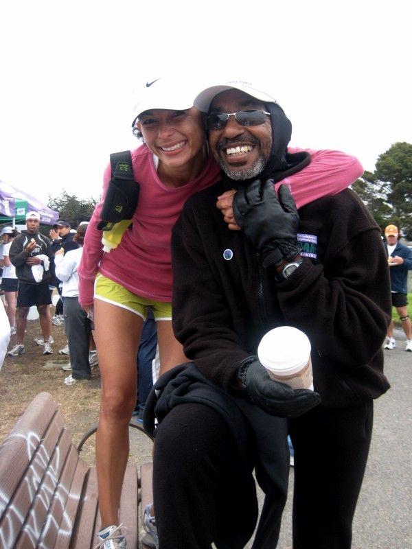 Finished a 13 mile training run - Nike '07
