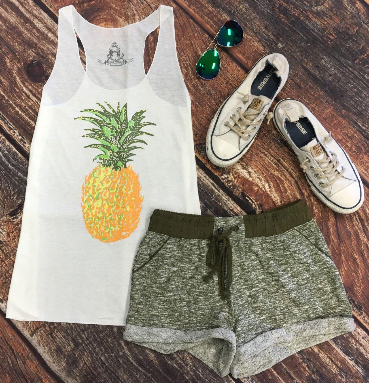 Basic Terry Pocket Shorts: Olive