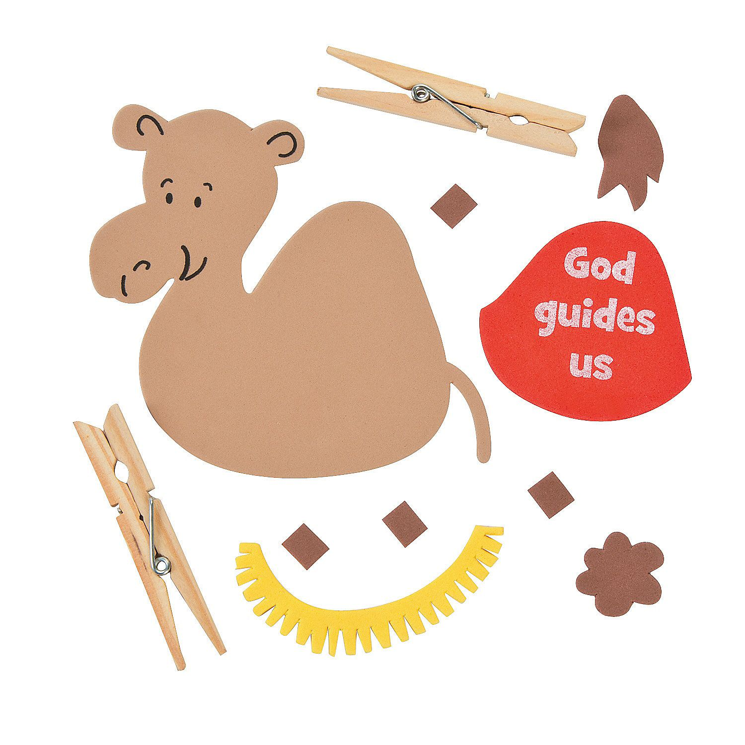 camel clothespin craft kit hobby supplies oriental trading and