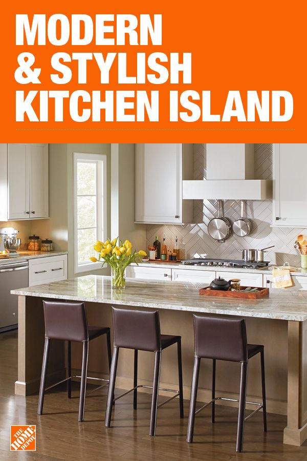 The Home Depot Has Everything You Need For Your Home Improvement Projects Click To Learn More An Stylish Kitchen Island Stools For Kitchen Island Kitchen Redo