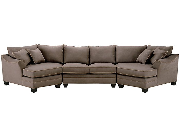 Dillon Mineral 3 Piece DualCuddler Sectional in 2019