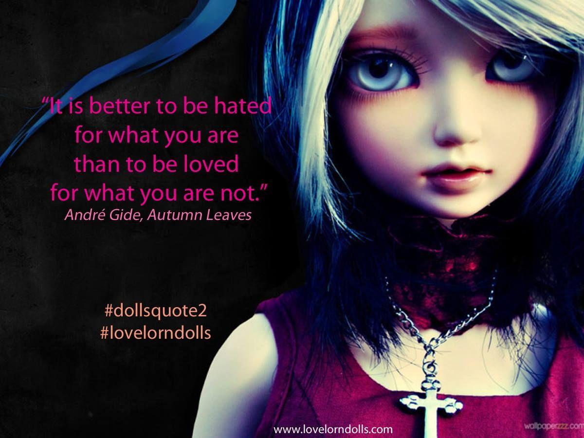 Lovelorn Dolls Quote