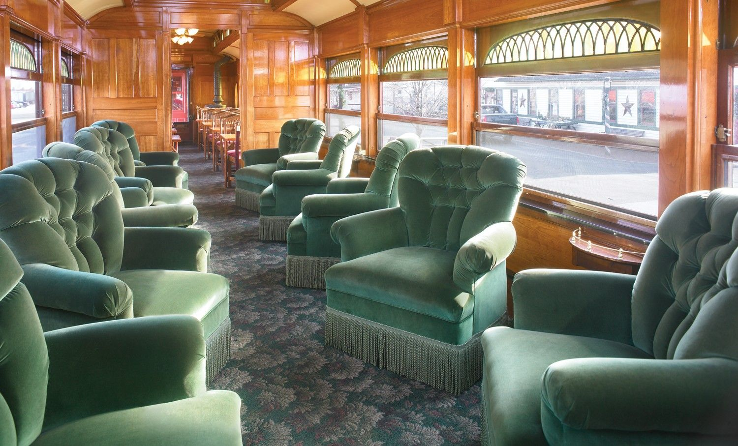 Groovy Strasburg Railroad First Class Lounge Car Featuring Soft Pdpeps Interior Chair Design Pdpepsorg