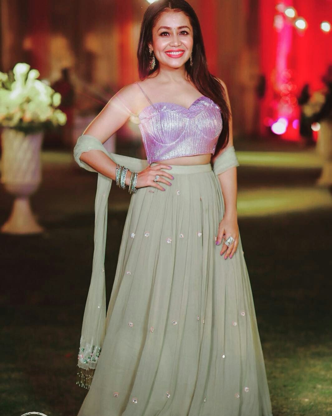 Neha Kakkar Neha Kakkar Dresses Bollywood Outfits Indian Wedding Gowns