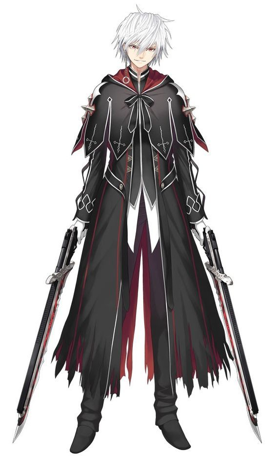 Duelist Male Character Design Male Anime Guys Anime Outfits