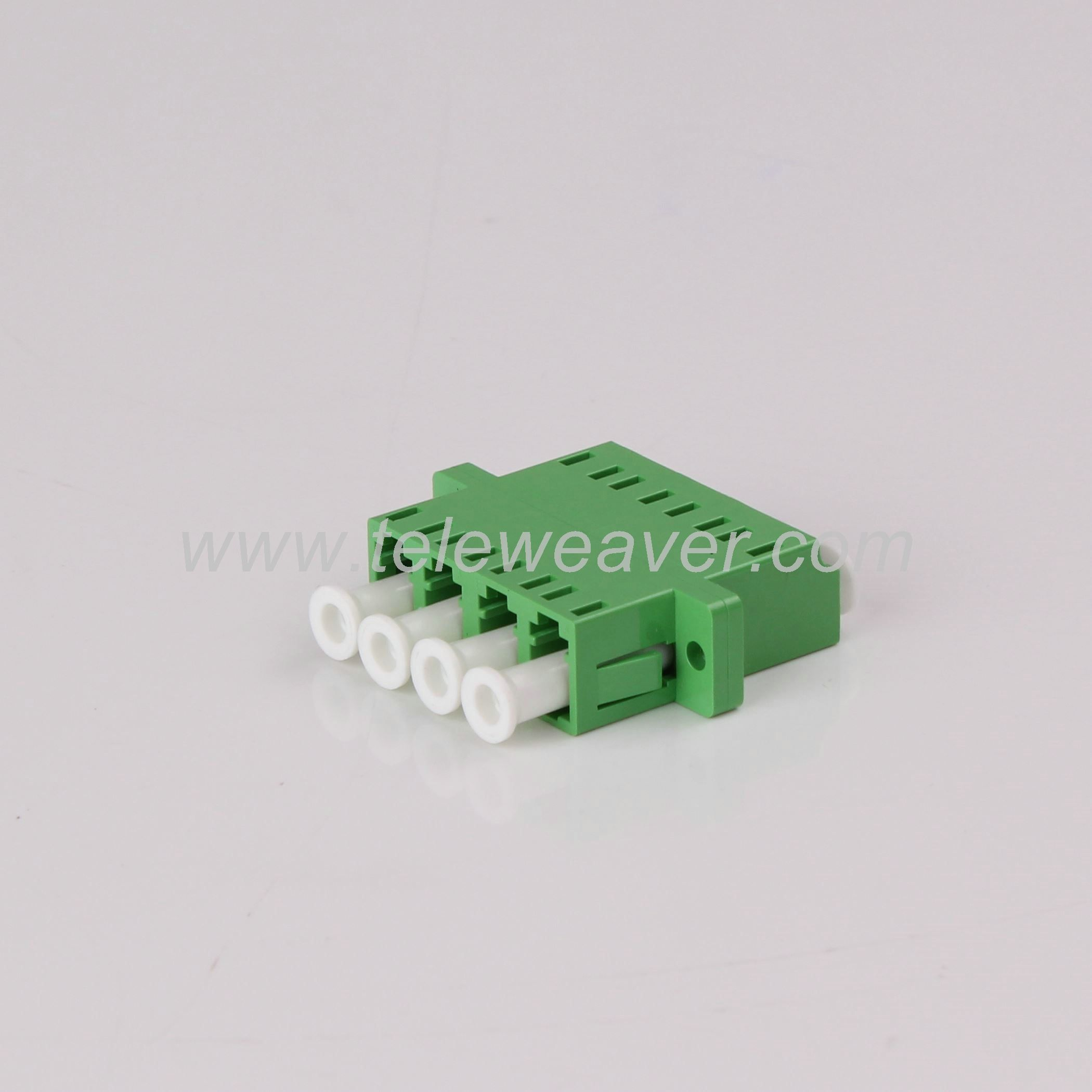 10pc SC APC SM Duplex Fiber Optic Adapter SC//APC Flange Coupler Adaptor