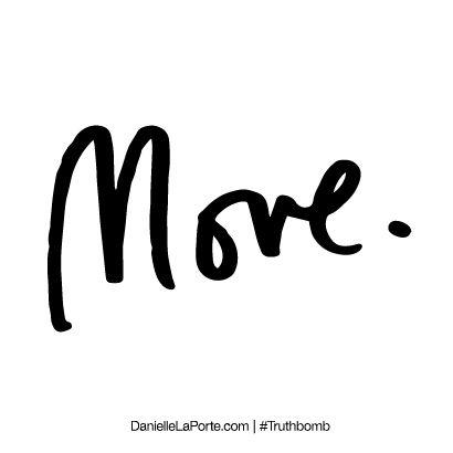 Move. Subscribe: DanielleLaPorte.com #heruntamedspirit #