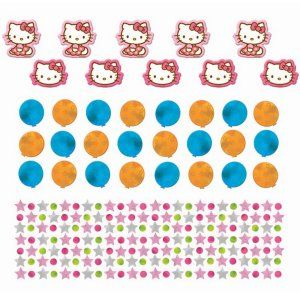 Hello Kitty Party Supplies  Oversized Table Confetti (bag) Party Supplies  Canada - Open A Party 19c03a7afe