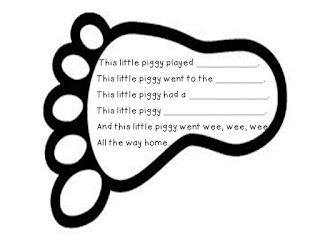 Piggy Rhymes Freebie--students generate rhyming words to