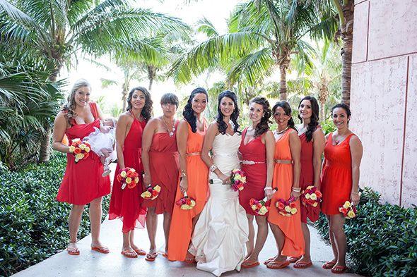Hawaiian Wedding Bridesmaid Dresses Orhddaa Orange Bridesmaid Dresses Orange Bridesmaid Orange Bridesmaid Dresses Short