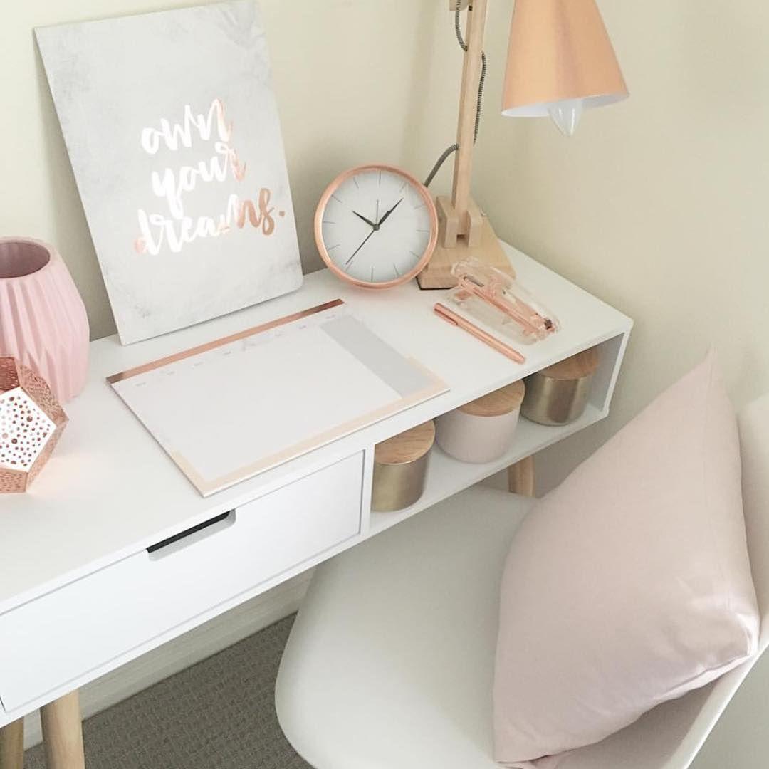 Goddess Leach Home Office Vanity Beauty Room Pinterest  ~ Decoracao Quarto Casal Chique E Quarto Com Mesa De Estudo