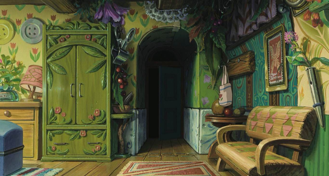 The Art Of The Secret World Of Arrietty The Art Of The Secret World Of Arrietty C Studio Ghibli Keyowo Artwork Arte Art Illus スタジオジブリ イラスト 綺麗 壁紙 ジブリ