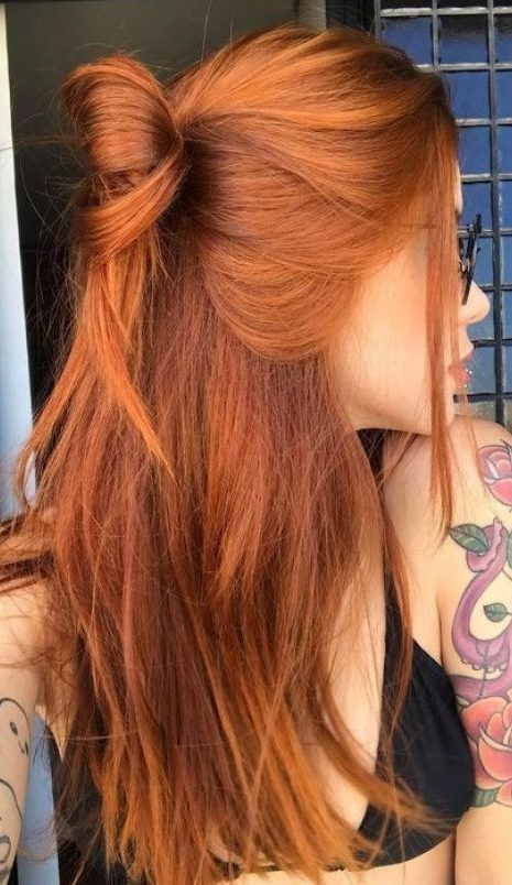 18 copper-Blonde hair color ideas for Short hair cuts in the spring of 2019  Was…
