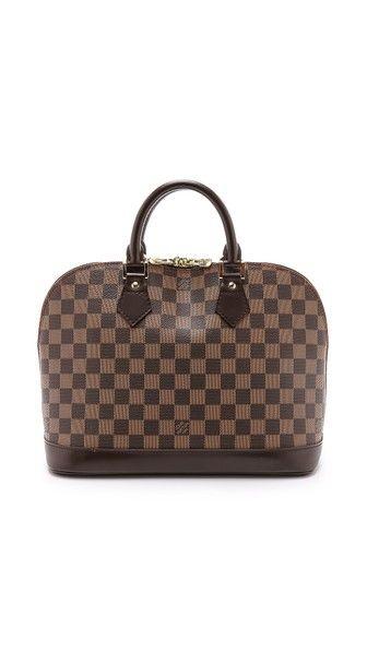 What Goes Around Comes Around Louis Vuitton Damier Ebene Bag