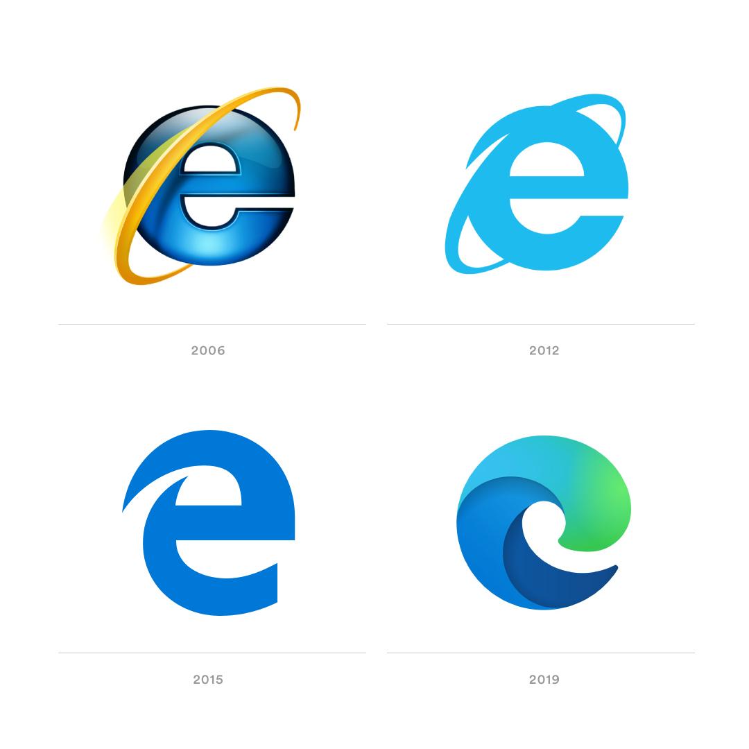 Do you like the new Microsoft Edge logo? Edge logo, Logo