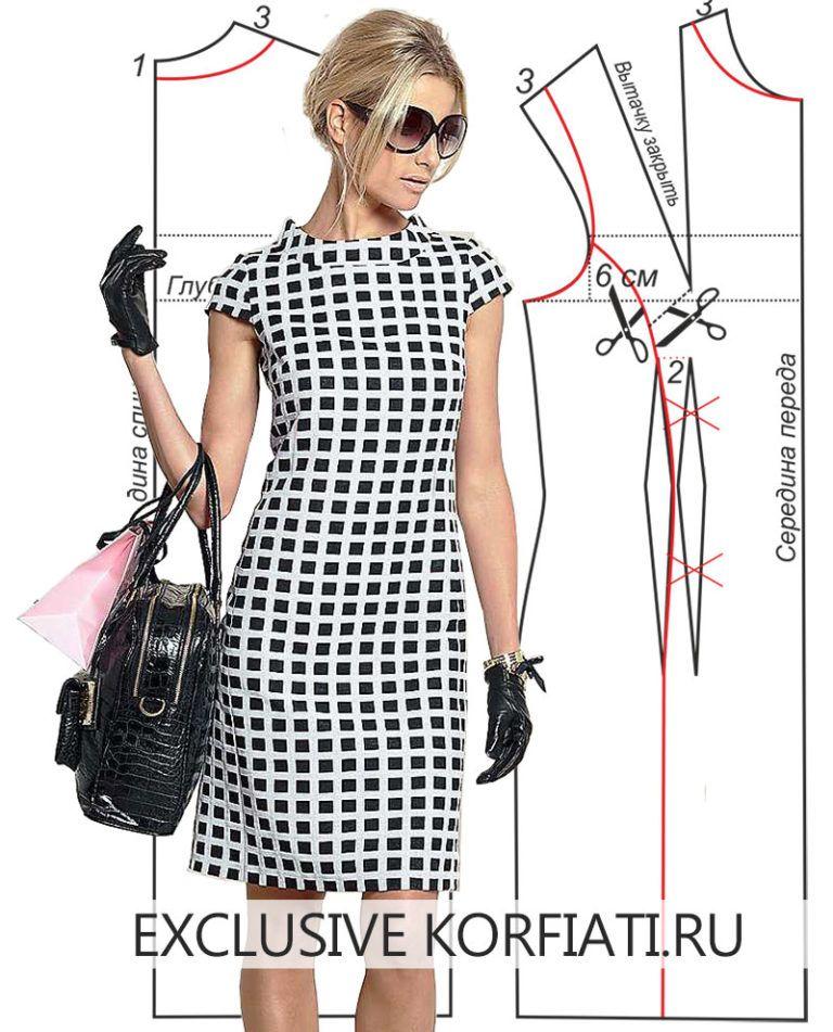 007e2bd345c Выкройки платьев от Школы Шитья Анастасии Корфиати - Страница 4 из 25
