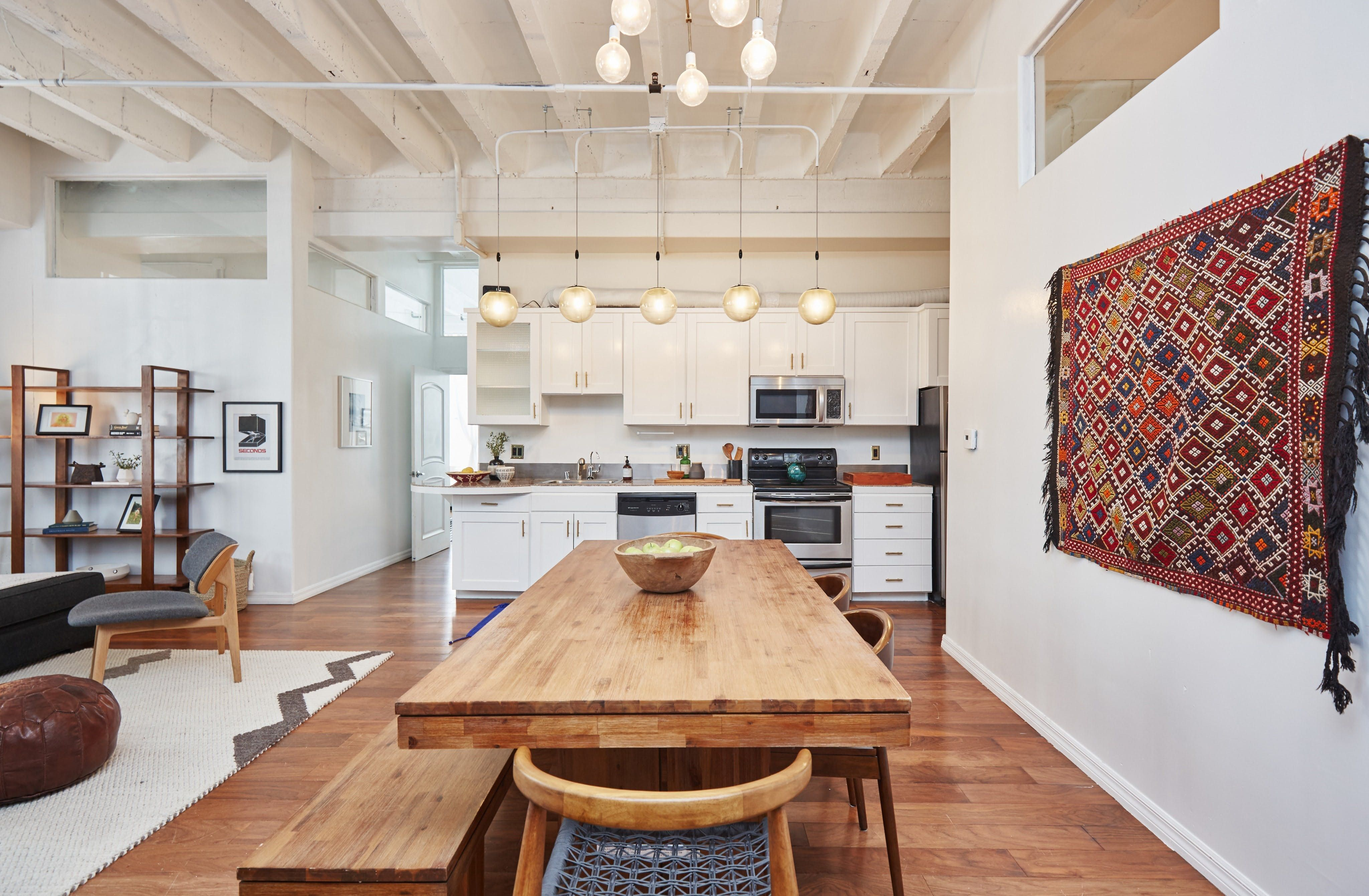 This Modern Boho Loft Used To Be A 1920S Department