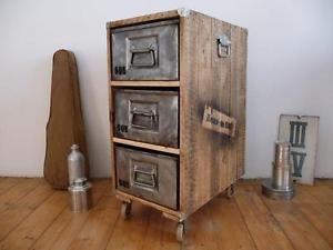 Design Badezimmerschrank ~ I ebayimg t schubladenschrank vintage industrie design