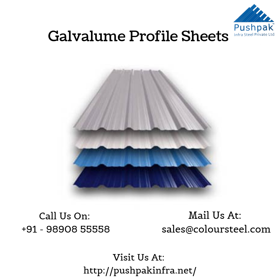 Galvalume Profile Sheets Manufacturer Roofing Sheets Cool Roof Industrial Roofing