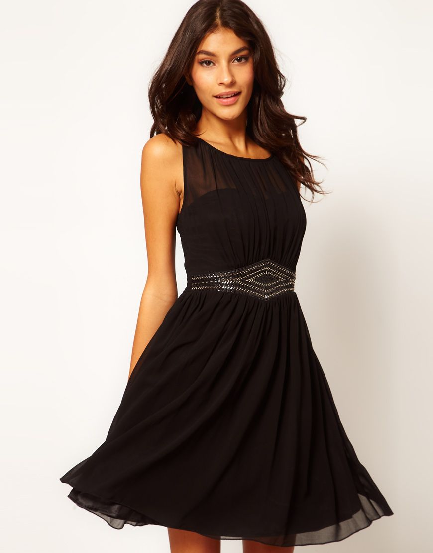Perfect Little (and Long) Black Bridesmaids Dresses | Best Long ...