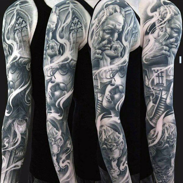 Top 67 Sleeve Tattoo For Men 2020 Inspiration Guide Best Sleeve Tattoos Mens Full Sleeve Tattoo Tattoo Sleeve Men