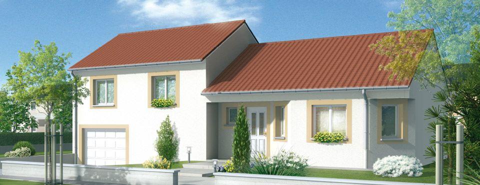 Maisons du0027en France Lorraine Nord - Etreval Construction en demi