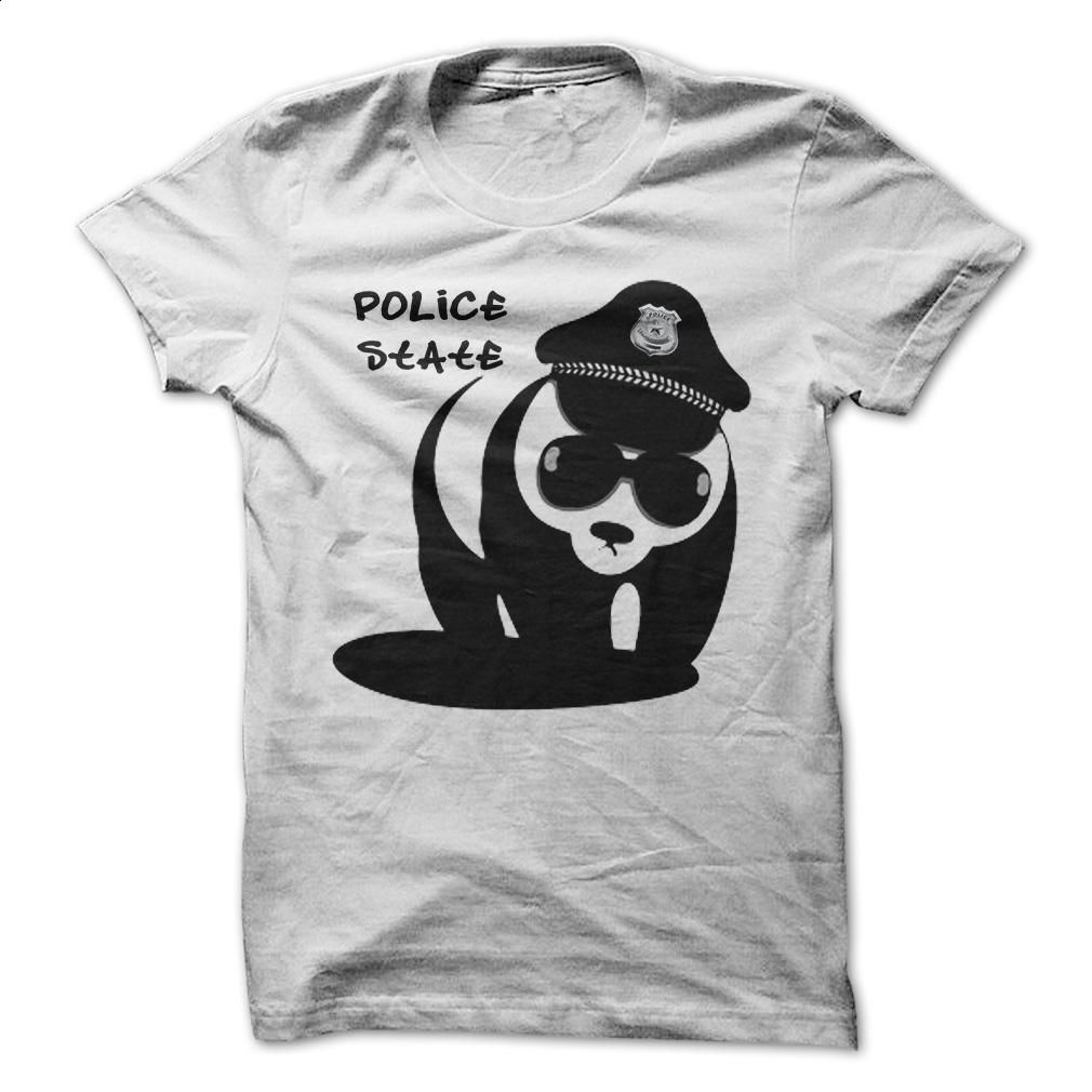 Panda Police T Shirts, Hoodies, Sweatshirts - #linen shirts #design t shirt. MORE INFO => https://www.sunfrog.com/Funny/Panda-Police.html?id=60505