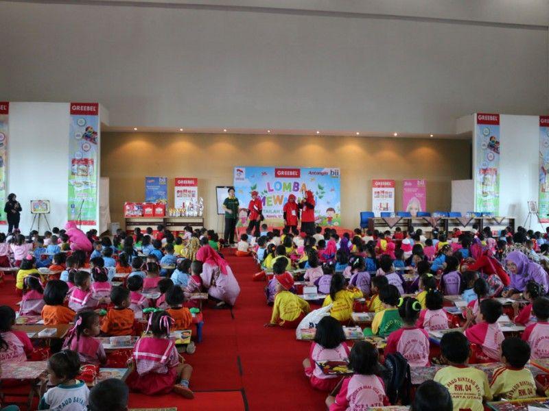 810 Anak Paud Se Kecamatan Tanjung Priuk Mengikuti Lomba Mewarnai Di