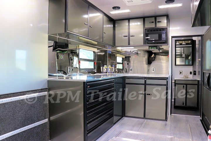 Winning Trailers For Sale Custom Cabinets Cabinet