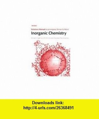 solutions manual to accompany shriver atkins inorganic chemistry rh pinterest co uk shriver and atkins inorganic chemistry solutions manual pdf free download shriver and atkins inorganic chemistry solutions manual