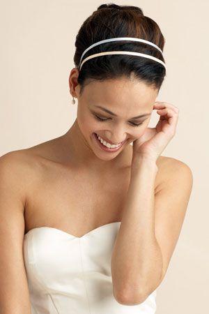 Fairytale Weddings Double Satin Headband