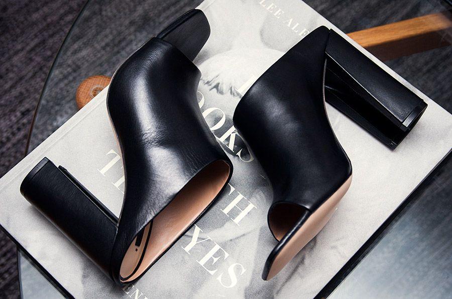 Minimal + Classic: Zara Mules | Skor, Trender och Kvinnor