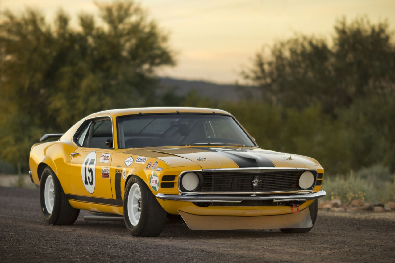 desertmotors: 1970 Ford Mustang Boss 302 Kar Kraft Trans Am | Drag ...