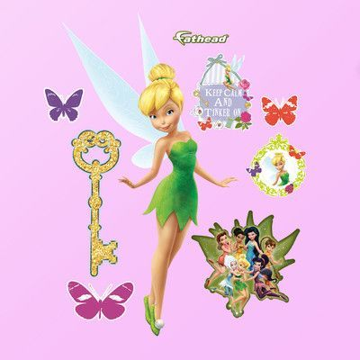 Fathead Disney Tinker Bell Wall Decal