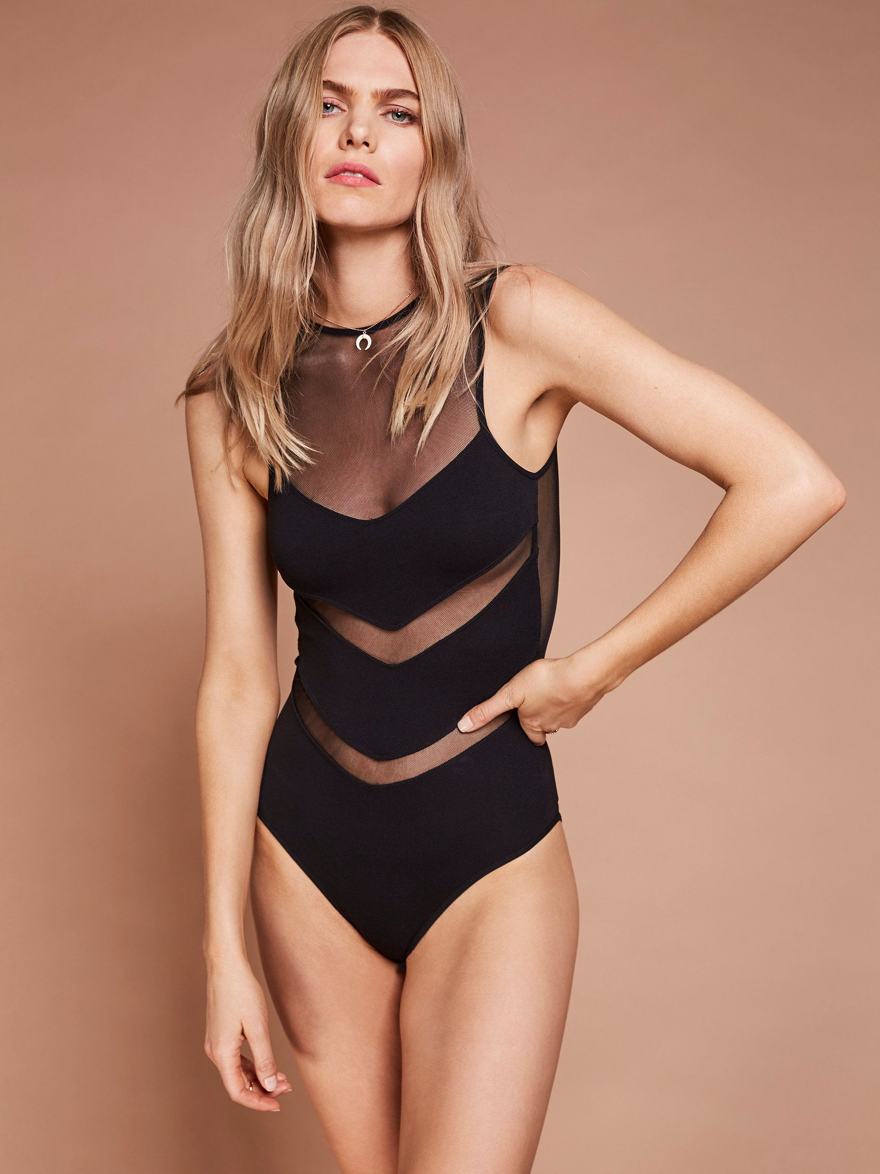 How to american wear apparel mesh bodysuit recommend to wear in winter in 2019