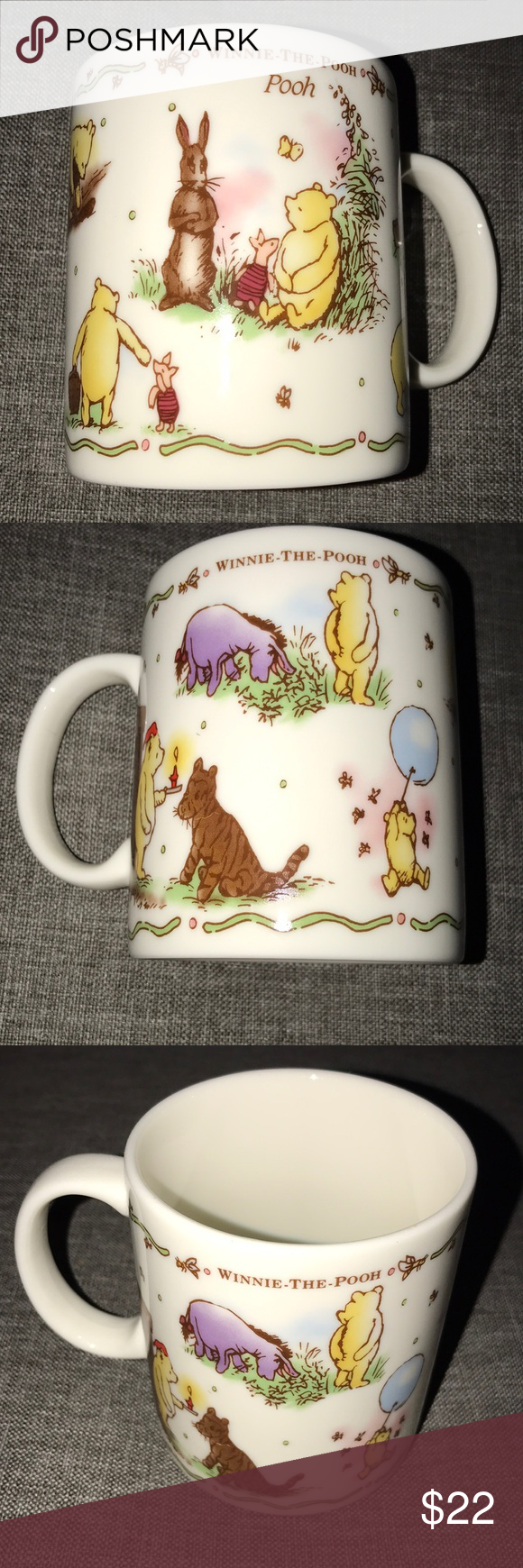 Classic pooh coffee mug Classic pooh coffee mug made in Japan beautiful sharp pictures Disney Other #disneycoffeemugs Classic pooh coffee mug Classic pooh coffee mug made in Japan beautiful sharp pictures Disney Other #disneycoffeemugs